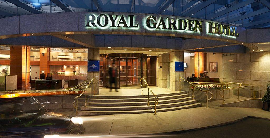 Book a break at the 5* Royal Garden Hotel