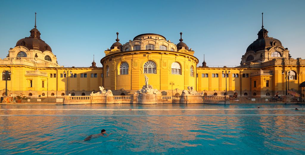 Perhaps pay a visit to one of the famous baths, open all year round