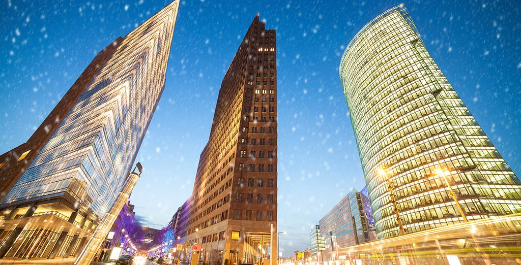 Located in the exciting Potsdamer Platz entertainment district