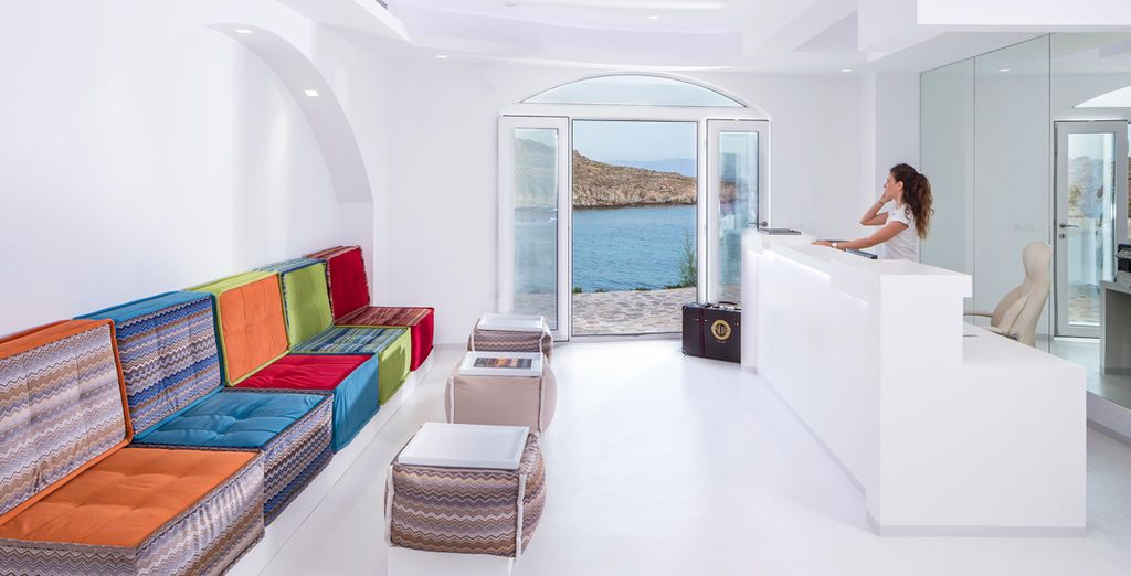 Welcome to this utterly chic Boutique hotel - Casa Del Mar Mykonos Seaside Resort 4* Mykonos Town
