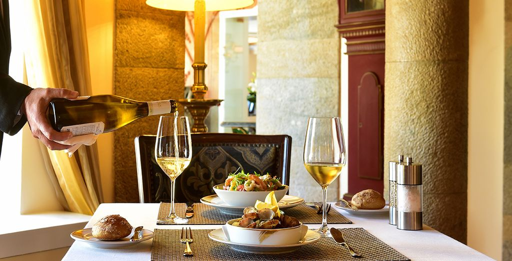 Dine in historic surroundings