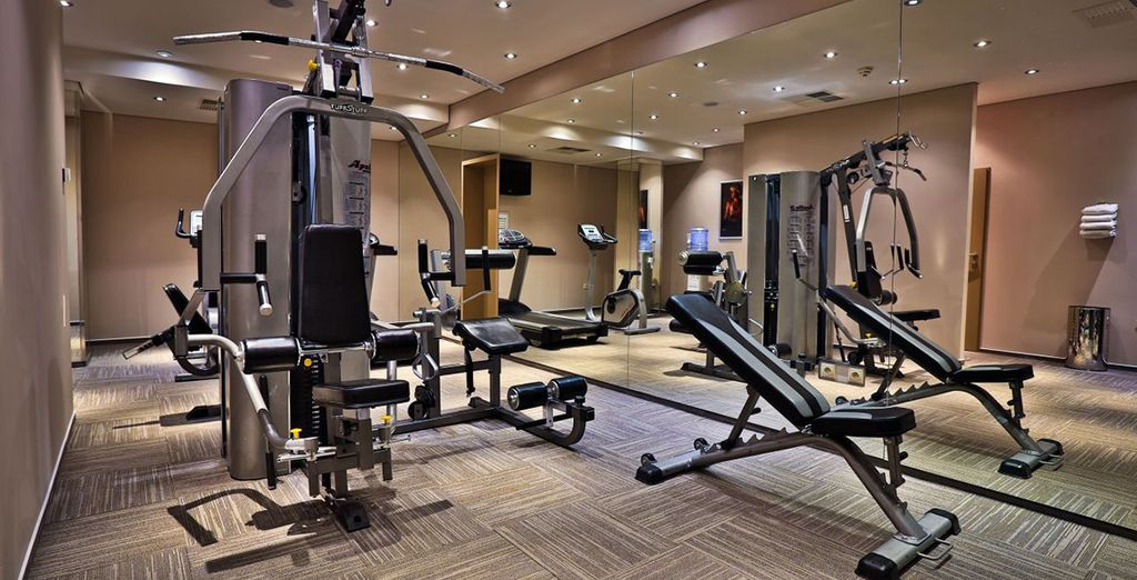 Enjoy the fitness centre