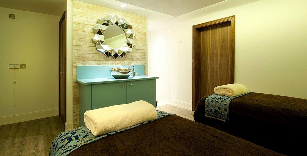 Low-lit treatment rooms