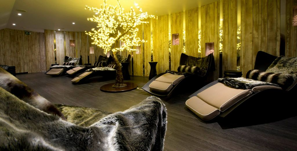 The sumptuous relaxation suite