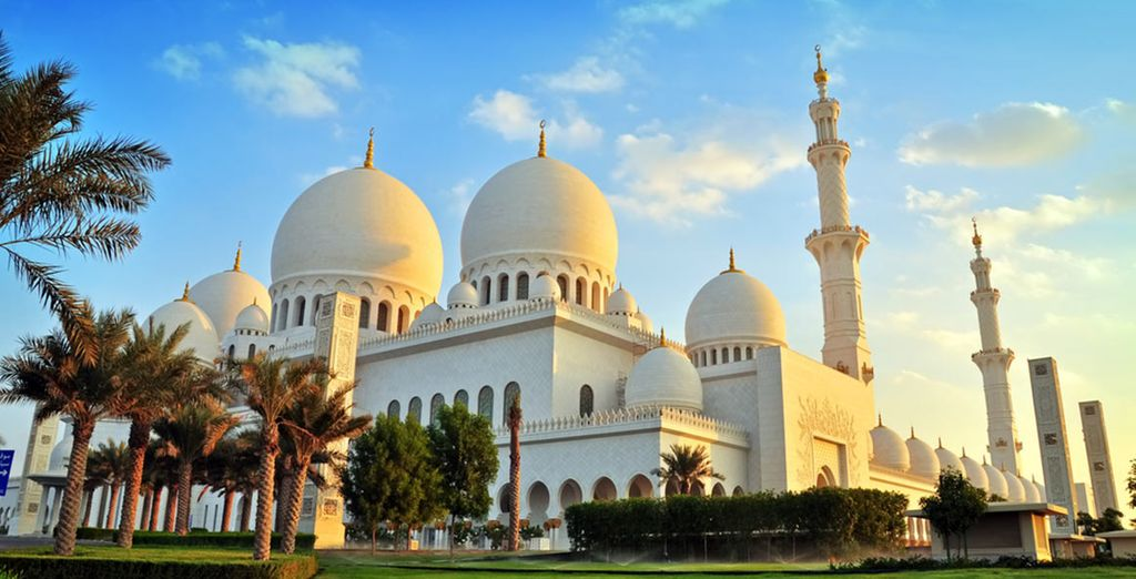 And discover the delights of Abu Dhabi