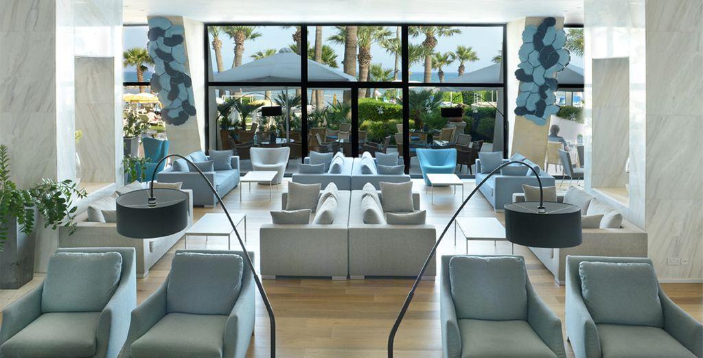 A stylish resort