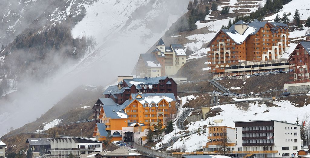 Lea Deux Alps is one of Europe's most popular ski resorts