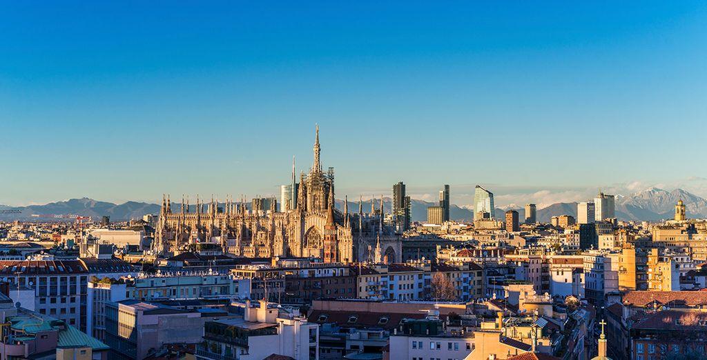 Begin your trip in Milan