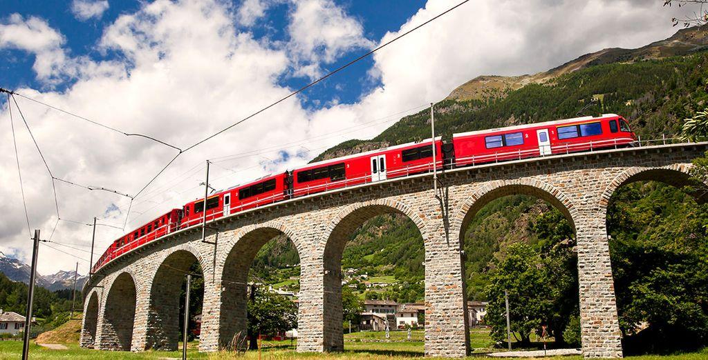 Board the famous Bernina Express!