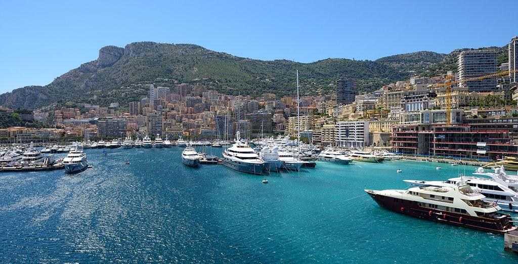 In the glamorous city of Monaco