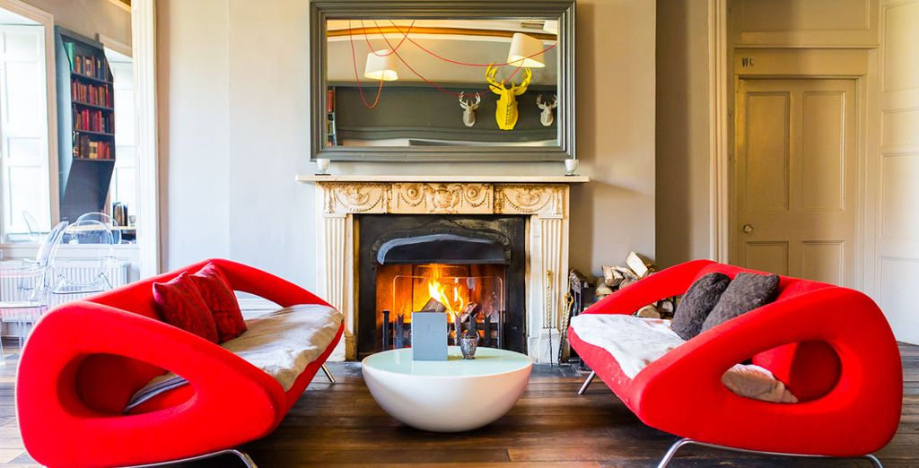 Cosy up by the fire for the perfect winter break