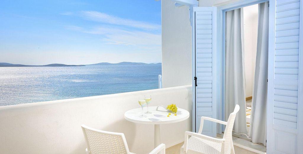 Promising the best Aegean Sea views