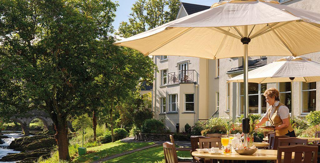 An elegant hotel - Sheen Falls Lodge 5* Kenmare - Co Kerry