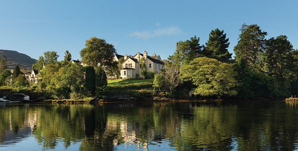 Welcome to Sheen Falls Lodge - Sheen Falls Lodge 5* Kenmare - Co Kerry