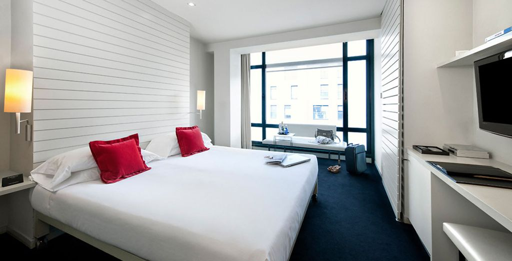 Stay in the Double Room City and Guggenheim Views