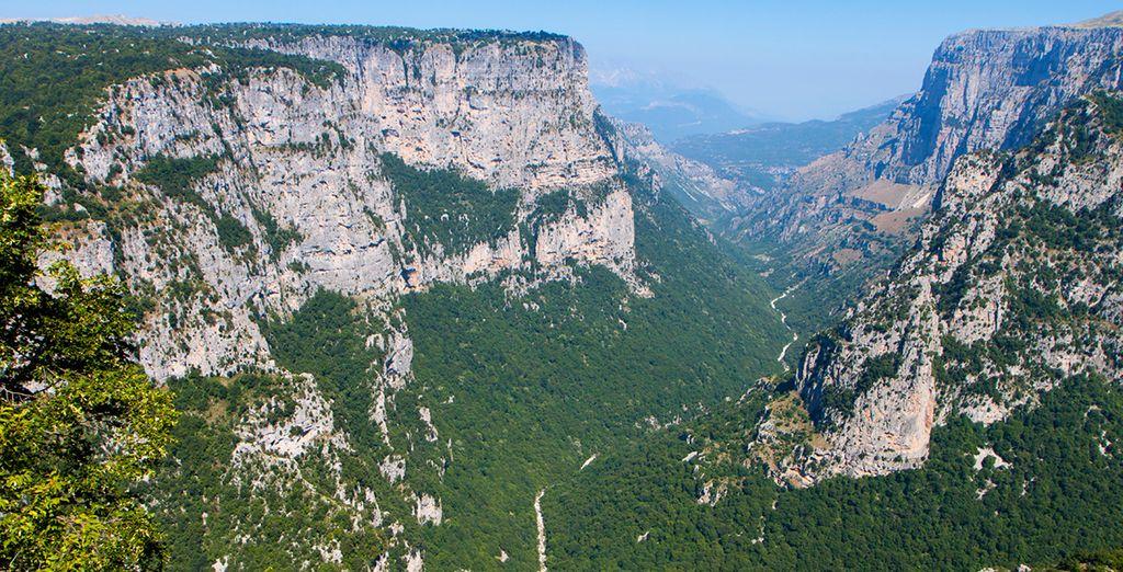 And majestic Vikos Gorge