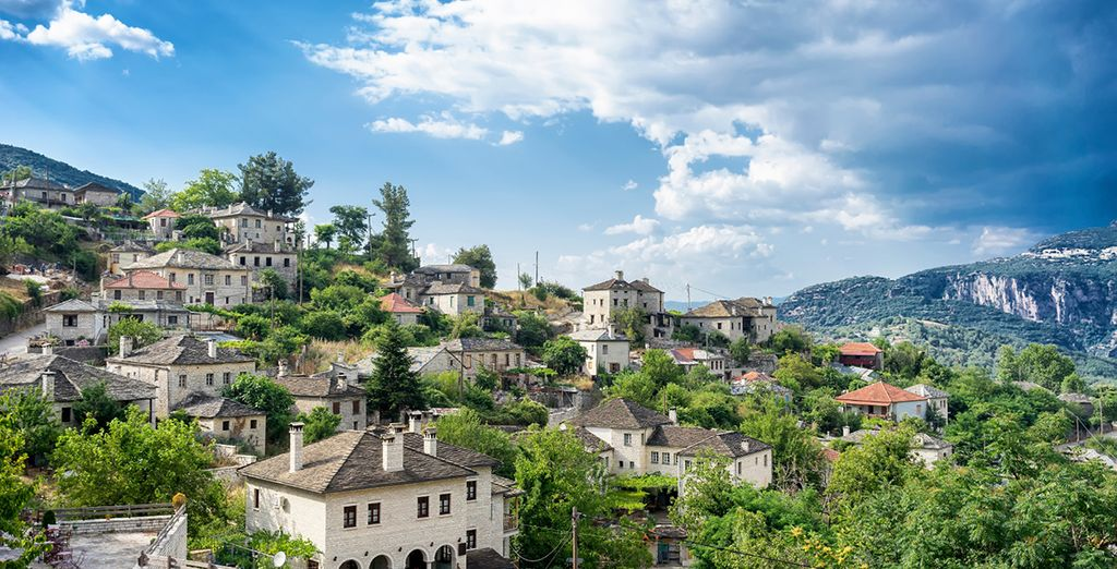 With enchanting hilltop towns