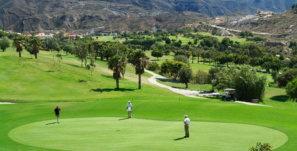 The grounds of Country Club La Envía Golf are just next door