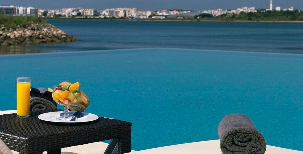 Start your day with a delicious breakfast by the pool