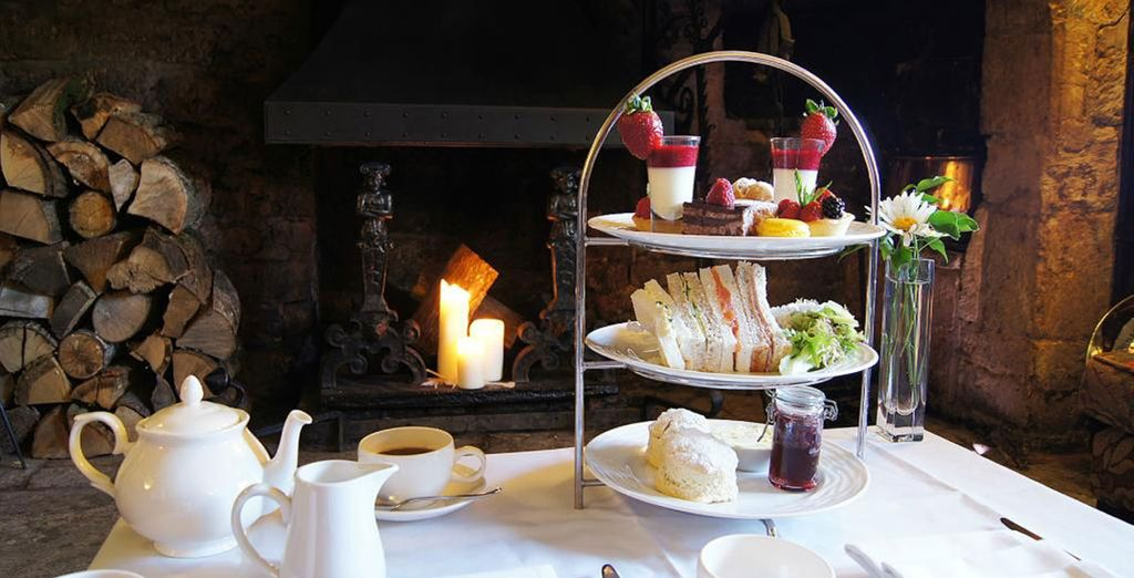 Those staying for 2 nights enjoy a complimentary afternoon tea