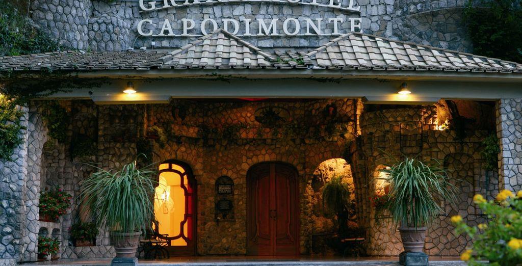Welcome to Grand Hotel Capodimonte