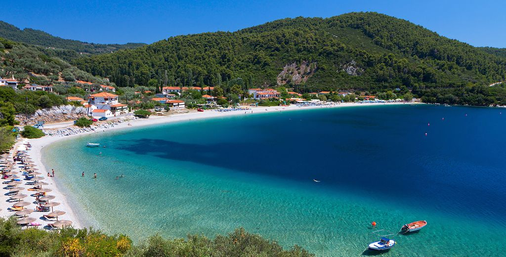 On the picture-perfect island of Skopelos