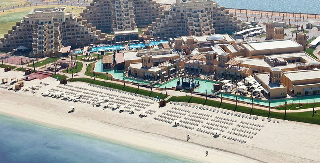 Beachfront luxury in the Emirates