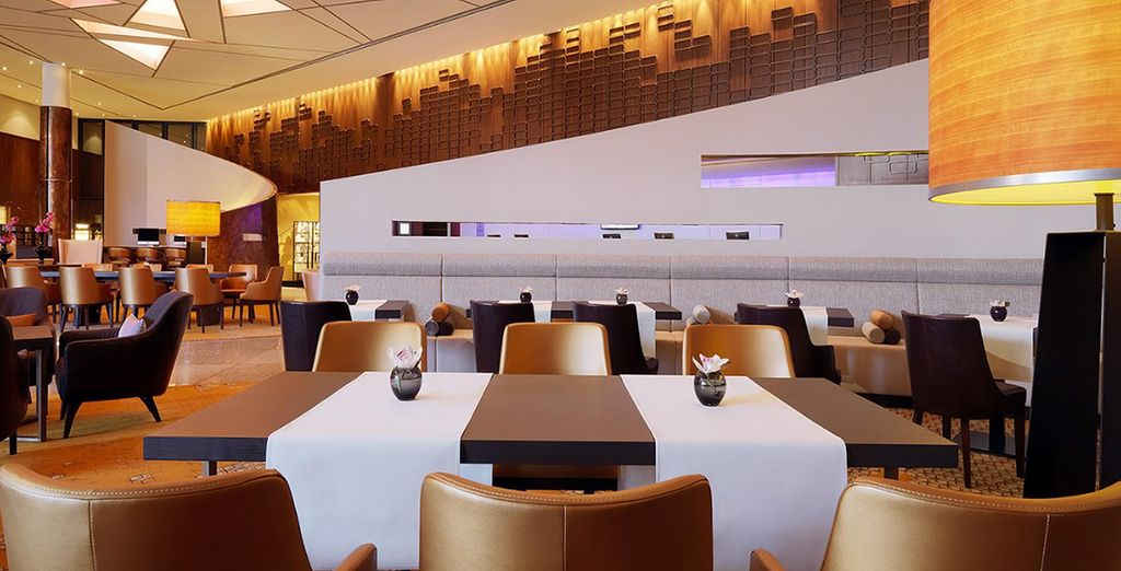 So enjoy some delicious dishes in chic surroundings