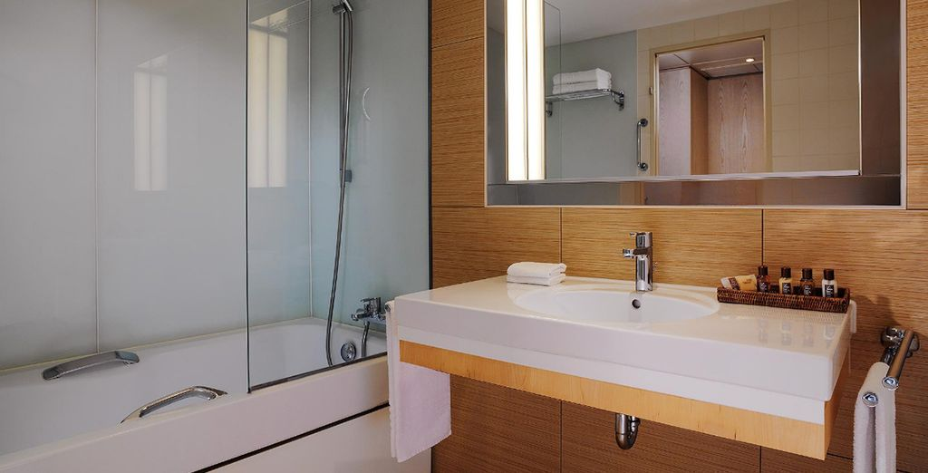 With stylish amenities to make your stay even easier