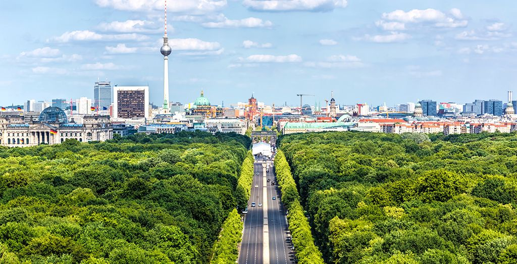 The Tiergarten: an emerald gem in the heart of Germany's capital that houses many of its most famous sites