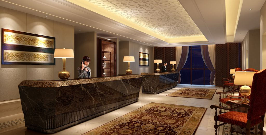 Step into this brand new luxury hotel