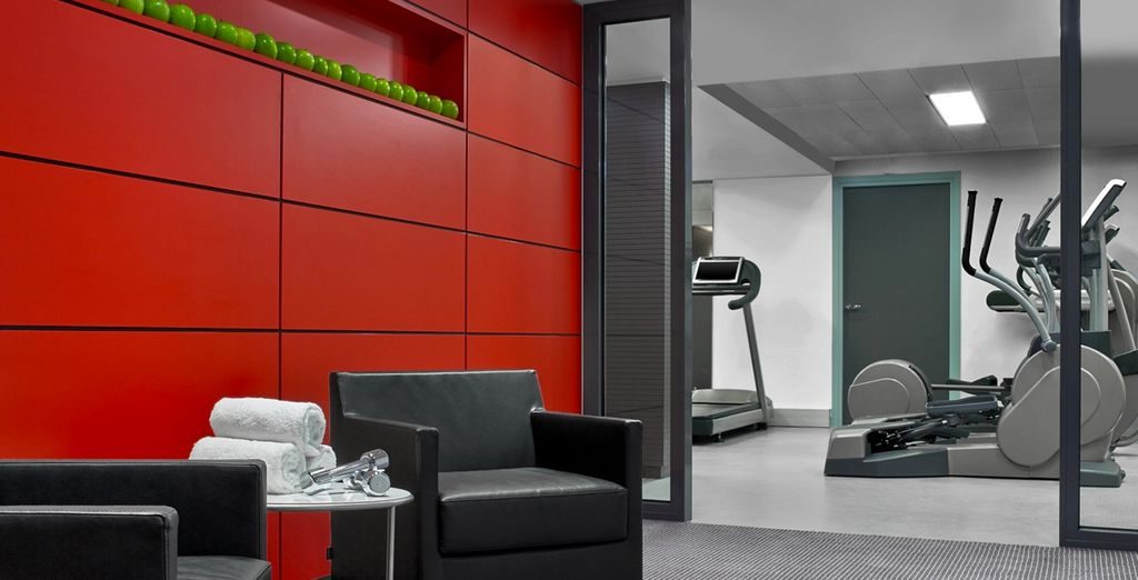 Make use of the state of the art fitness area, or an in room spa treatment to wind down