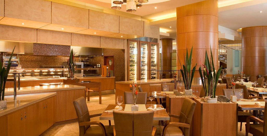 Or indulge your tastebuds at the Fusion Restaurant
