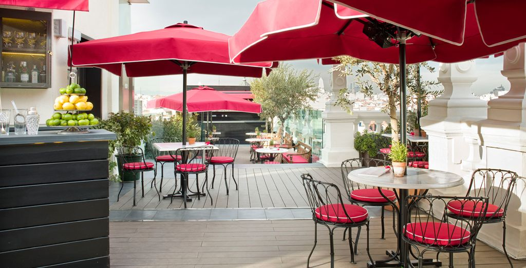 The spectacular terrace is possibly the best viewpoint in Madrid