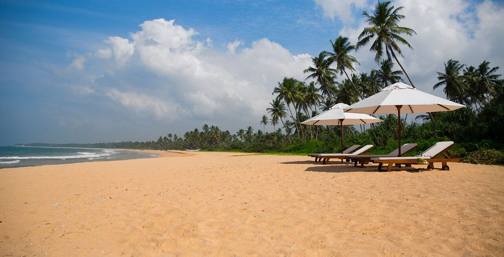 Nestled in a secluded spot on the south coast of beautiful Sri Lanka