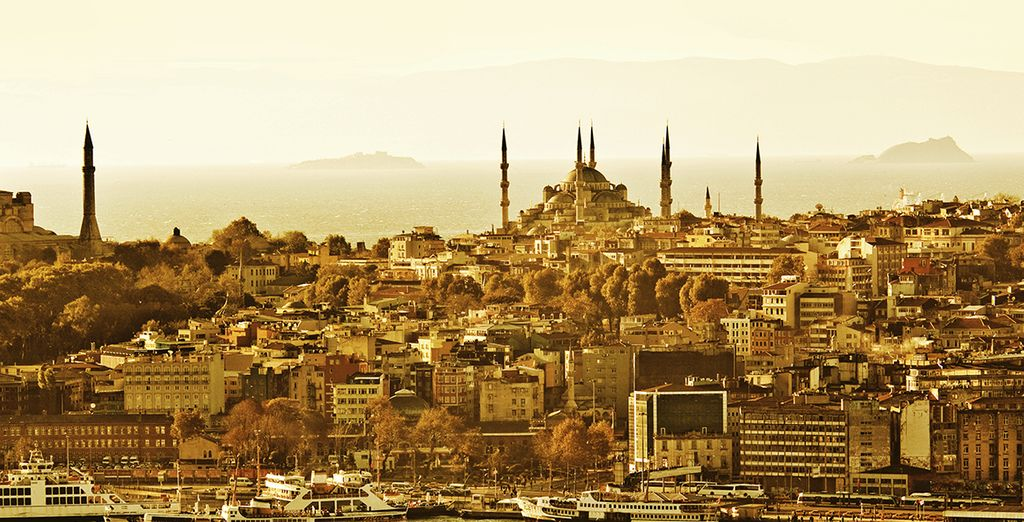 Enjoy your stay in Istanbul!