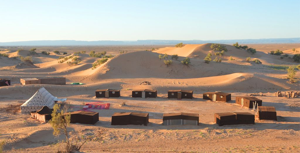 Erg Lihoudi Camp - Luxury Tent in the desert of Morocco