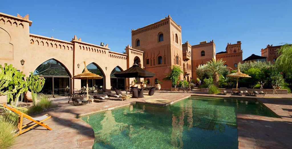Ksar Ighnda - luxury hotel in Morocco