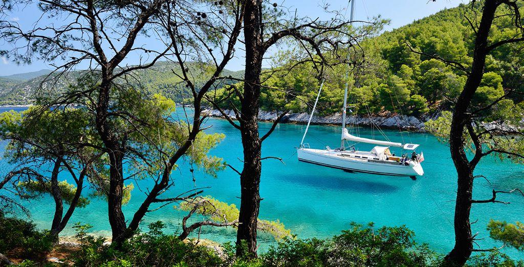 The blissful island of Skopelos...