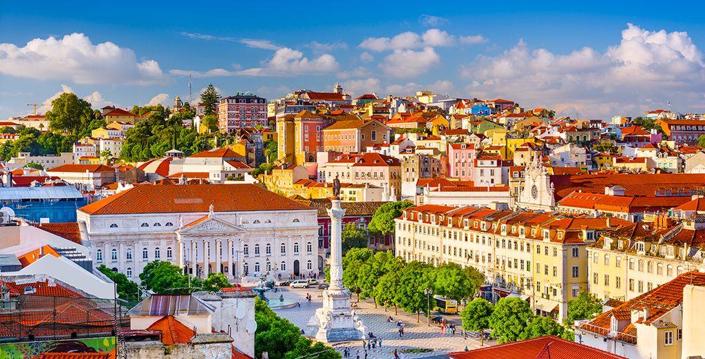 Explore the cosmopolitan beauty of Lisbon