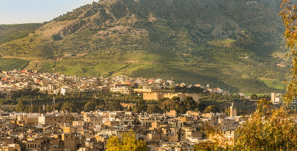 You will go on to explore ancient Fes...