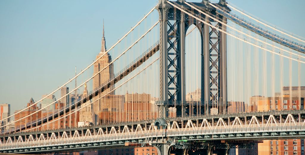 From iconic sights like the Brooklyn Bridge
