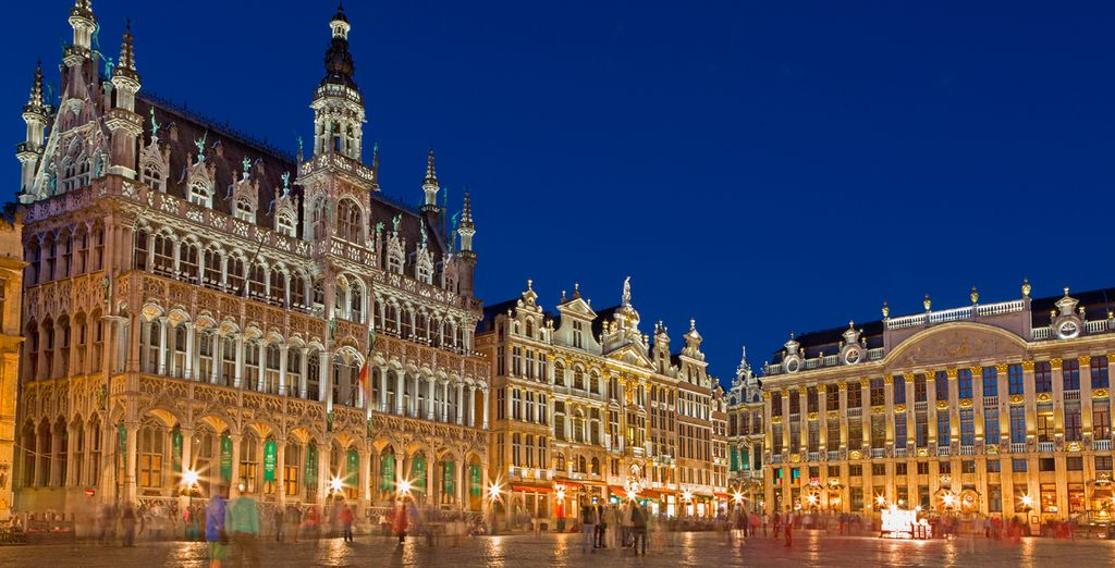 Spend some time around the corner from Brussels' Grand Square