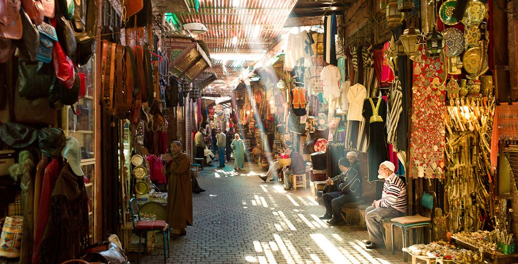 You can even extend your stay you can spend some time exploring the bargain-laden streets of Marrakech