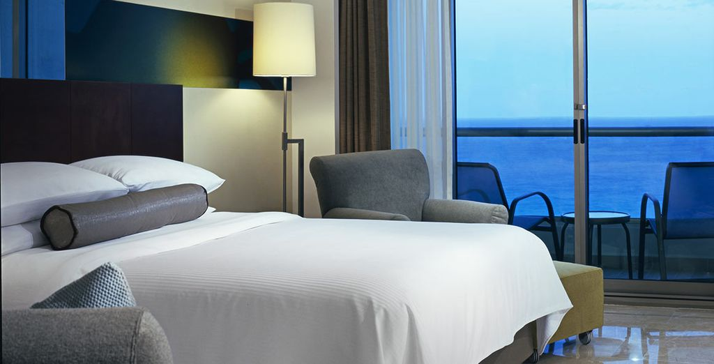 Or  a Deluxe Ocean View Room
