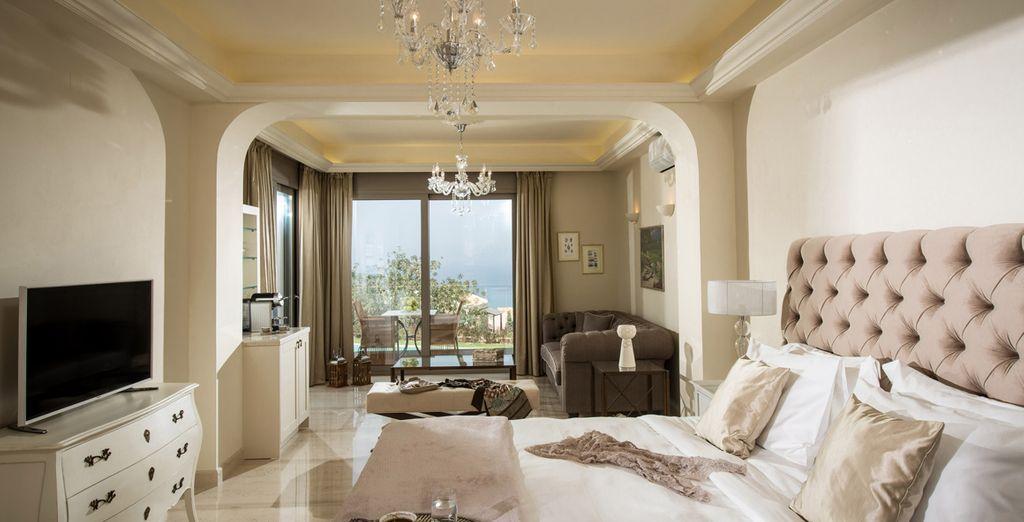 Choose between a Luxury Pool Suite