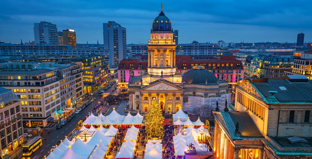 Explore Christmas markets in Berlin