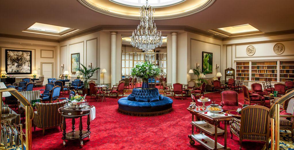The attractive hotel opens its doors