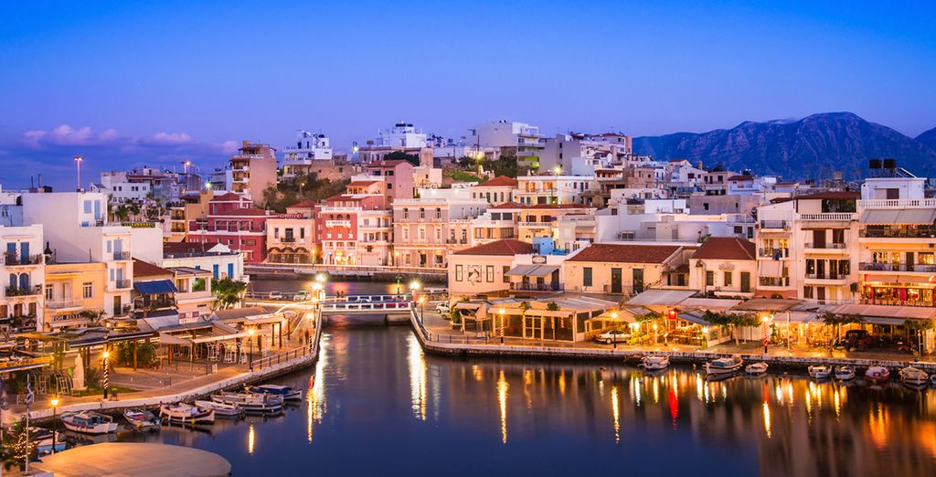 Or explore pretty Agios Nikolaos