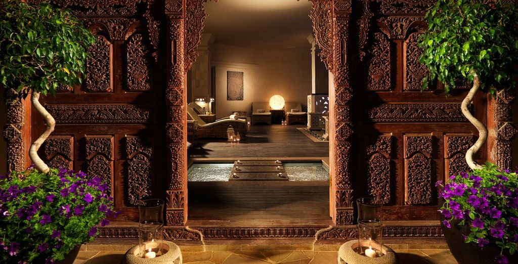 Welcome to the serene spa...
